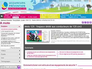 assureurs prévention 125